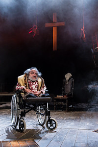 The Caucasian Chalk Circle at Unicorn Theatre Nabil Shaban  © Manuel Harlan