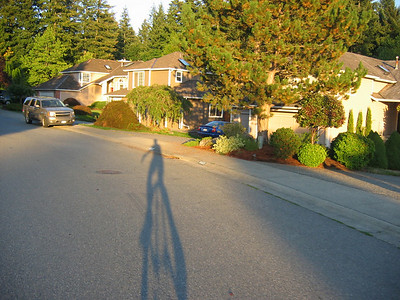 Last couple of miles, shadows getting long.