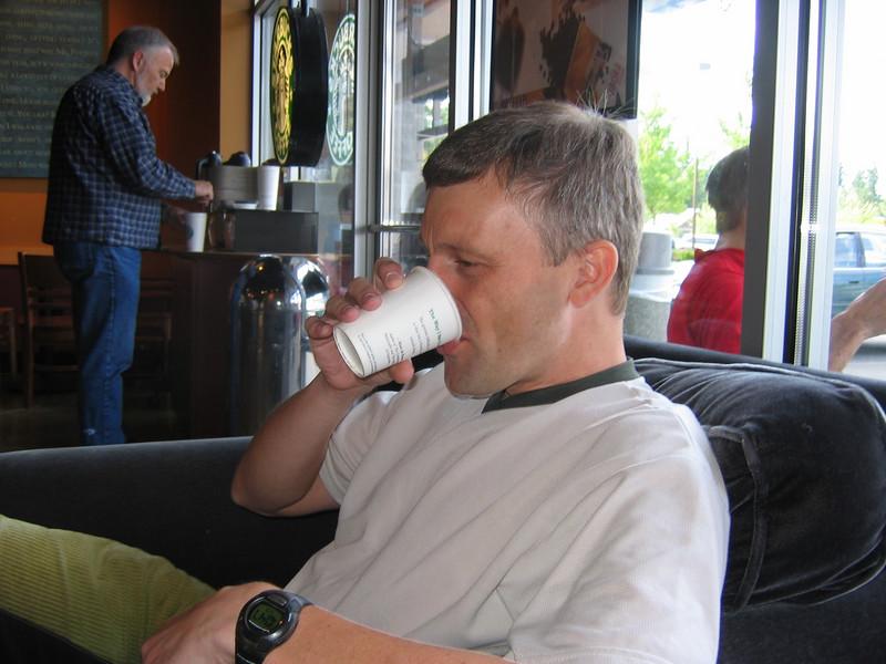 Espresso #1 - Pre-ride in Issaquah Starbucks
