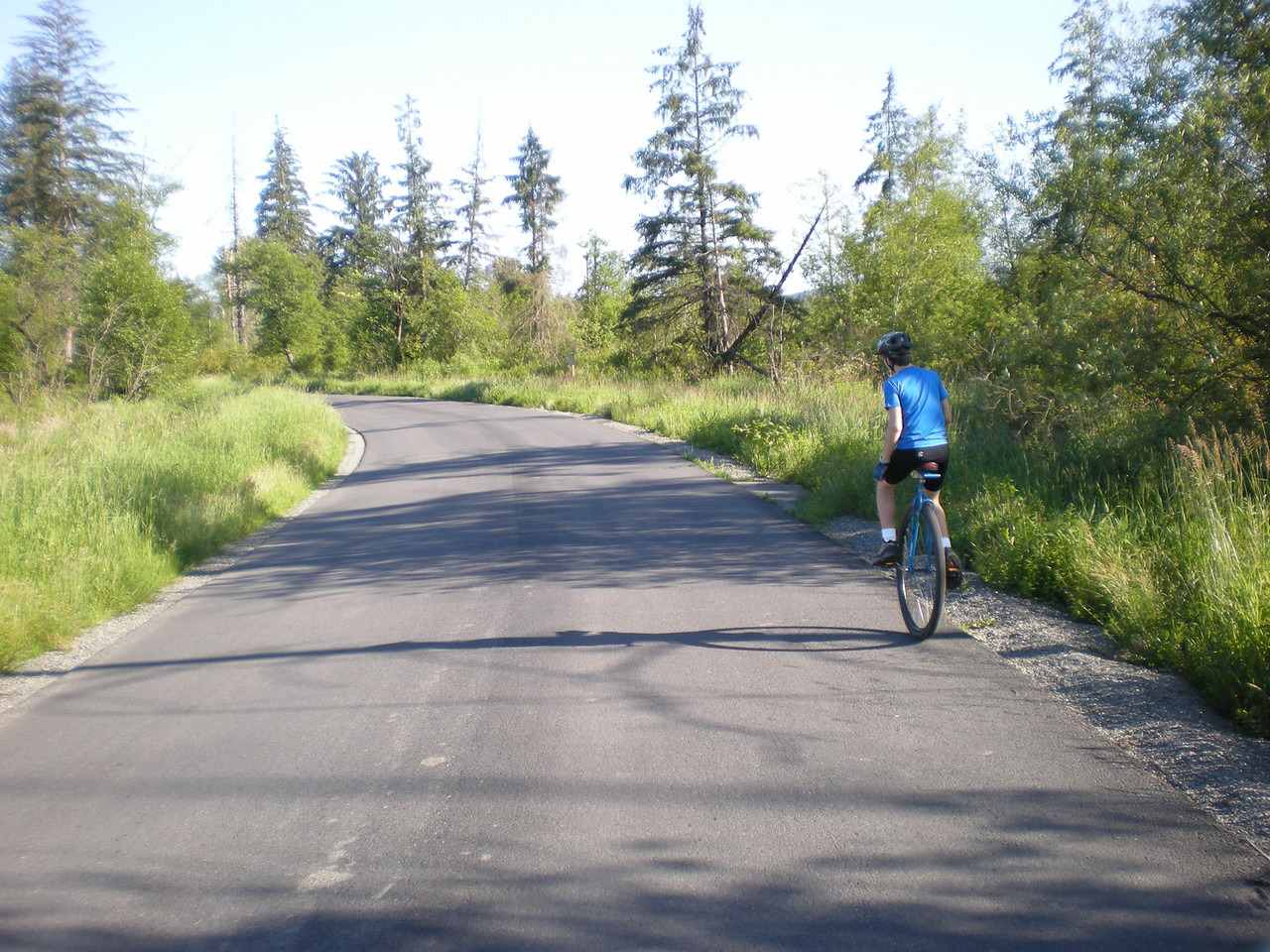 2008:  Miles on the Snoqualmie River Road.  For context, check out a photo at the link below, of me riding in this same spot less than a month earlier.  http://www.hayope.smugmug.com/gallery/4961928_PUFTd#296975694_MvQsm