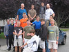 Group shot at Blackwood house before leaving.  L to R: Gary, Danny, An'So'Ro, Tom, Harper, JC, Tom J, Jeff S (standing w scruff), Adrian (sitting in white), Miles, Tyler (standing on truck), Travis (standing w/ bunny ears), John S, Wardbaby, Steve DeKK