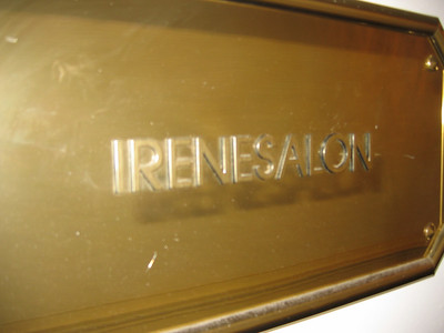 In Noordwyck, they like Irene so much they named a hotel meeting room after her.