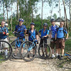 Team Blue, unicycling bane of Team Orange.  L to R: Me, Matthew (USA), Bruce (NZ), Ken (NZ), Nic (Australia), Andy (USA)