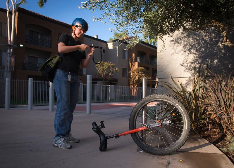 Unicyclist Poindexter