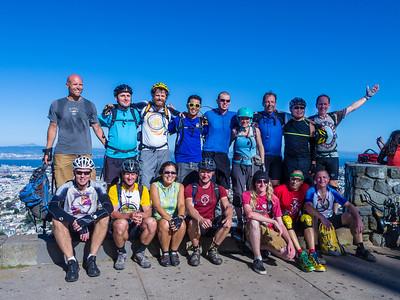 [John Foss photo] Group shot on Twin Peaks