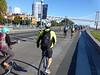 Riding toward the Bay Bridge