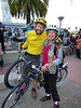 Mother and son doing Critical Mass together again!
