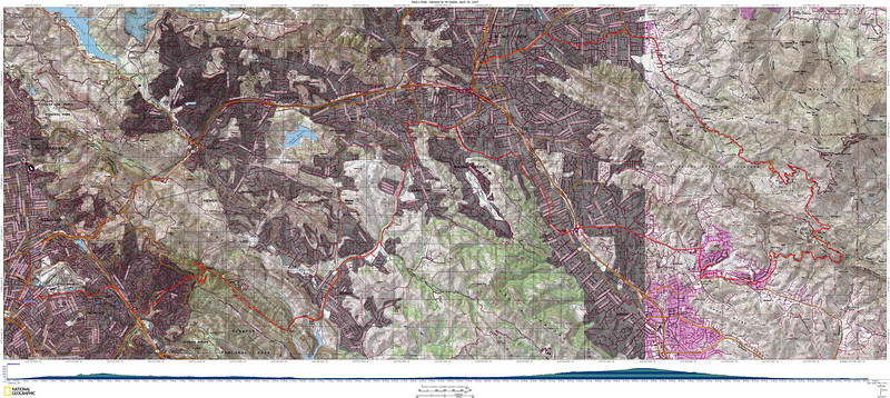 Very detailed Topo map showing the route. Best viewed at original size (5.4MB)