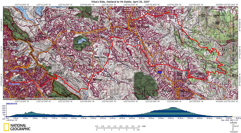 "Topo Map showing the route. Best viewed at ""Original size"" (620KB)"