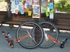Two fancy orange Hunter36s: Mike and Bronson (with the adjustable cranks)