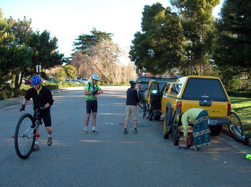 Just before starting in Aptos