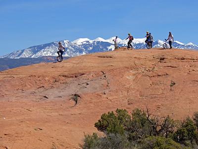 Riders on the Slickrock.