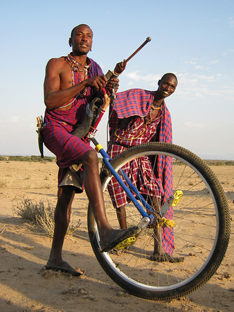 Africa Unicycle Tour 2009