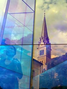 [IG] Reflections in Vaduz.