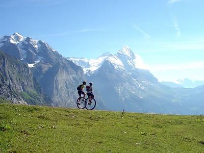 [KL] Starting the descent to Grindelwald.
