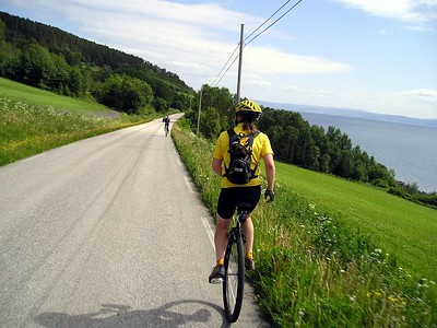 Norway Unicycle Tour, June-July 2003