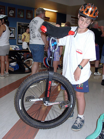 Toronto North American Unicycle Convention 2001