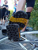Check out this system: pedals adapted to interface perfectly with the bottom of the shoe! Like clip-ins, but 100% safer.