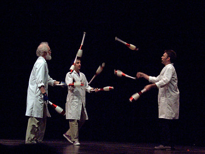 The Stanford Juggling Research Institute...