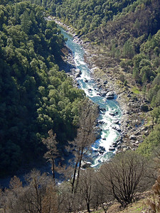 North Fork American River, seen from the trail