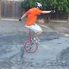 Backwards wheel walk. 12 seconds.