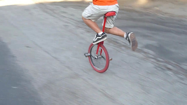 Beau Unicycling Videos