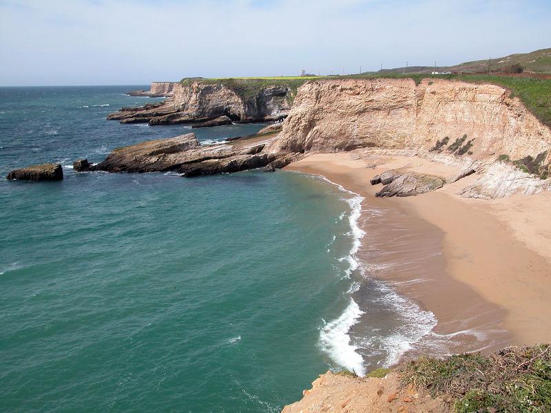 Beautiful Panther Beach, just north of Santa Cruz California