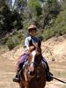 Sunday: Beau on Eskamo at David de la Rosa's ranch