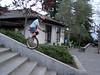 Riding a ramp
