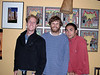 3/4 of Team Unizaba: Kris, Nathan and Sean White (cinematographer)