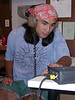 Sean at work recording Unizaba narration