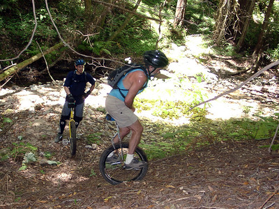 Wilder Ranch Mountain Unicycling June 24, 2001