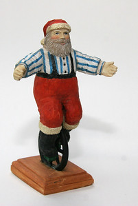 "This Santa is about 6"" high"