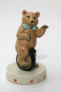 "Ceramic bear, about 5"" high"