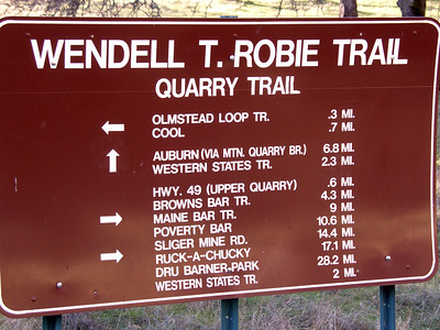Other trails in the area