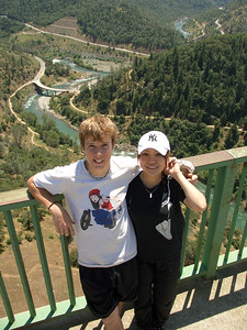 Zack and Kaori on the Foresthill Bridge