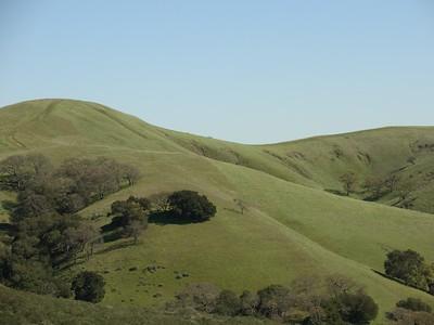 Beautiful rolling hills.