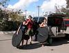 The traveling Coker family