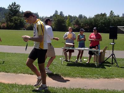 Howell Mountain Challenge on Unicycles Aug 11, 2002