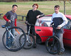 May 7 at Whakarewarewa MTB Park with Ken Looi, Joe Dyson and Pete Marchant