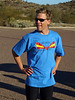 Modeling the beautiful Arizona Mountain Unicycle Weekend T-shirt.