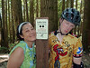 We ride Ladies Only, a famous and excellent trail. Happy Grace, Excluded Jason.