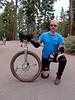 Scott Bridgeman and his amazing custom-made disc brake Muni