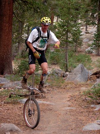 California Mountain Unicycle Weekend 2000