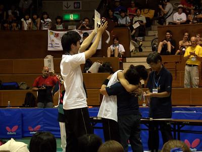 3rd: Ryohei Matsuda and Ryo Mitsuya (no relation?)