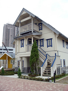 A model home.