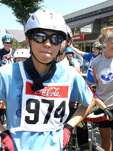 I took a picture of this guy because he looked cool. As it turns out he rode cool as well. Kobayashi Seisuke won the Cross Country, the Uphill, the Downhill, and the World Racing title.