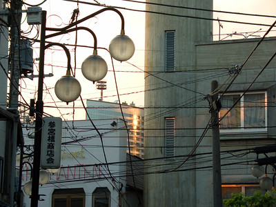 Japan has lots and lots of ugly electrical wires everywhere.