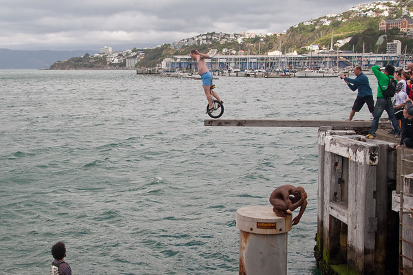 2010, Unicon XV Part 3: Trials, MUni, Plank Diving