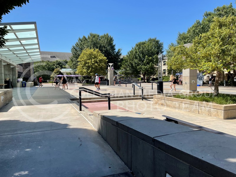 Students get back onto campus as classes revert back to in person for the 2021 Fall Semester. (Sophie Osborn   The Collegian Media Group)